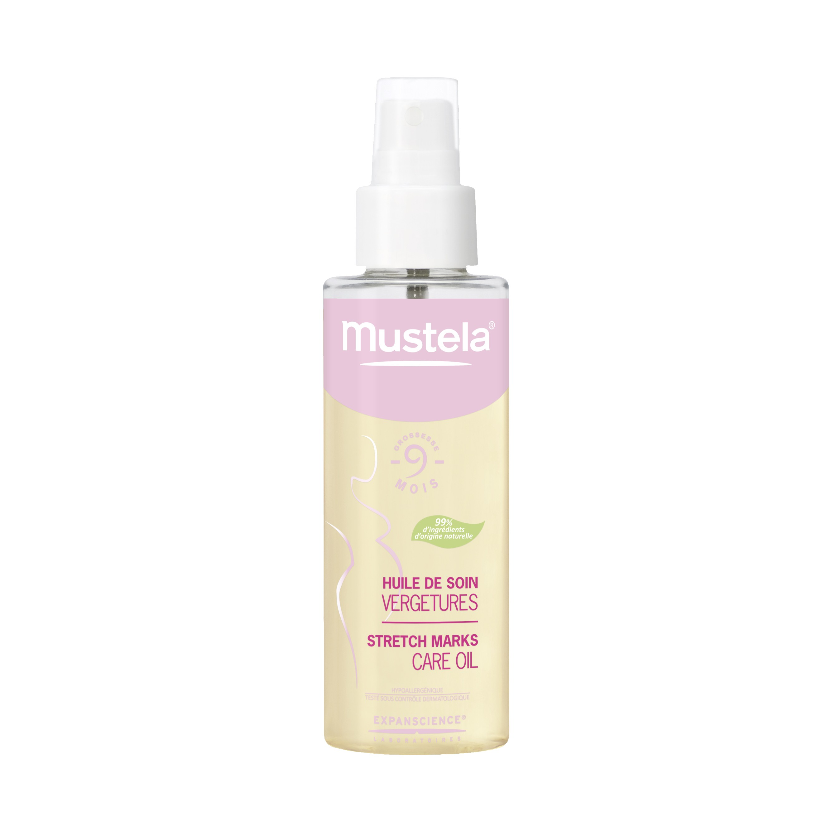Mustela Bebe Stretch Marks Care Oil review