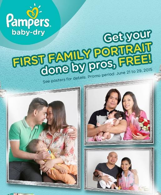 Free First Family Photo from Pampers