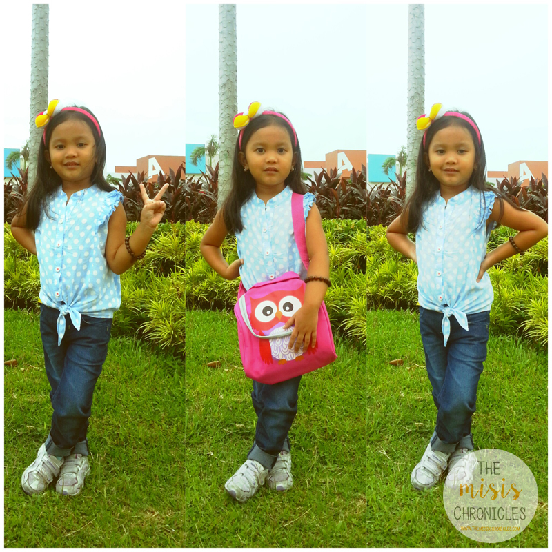 OOTD: That cute lunch bag from SM Kids Fashion