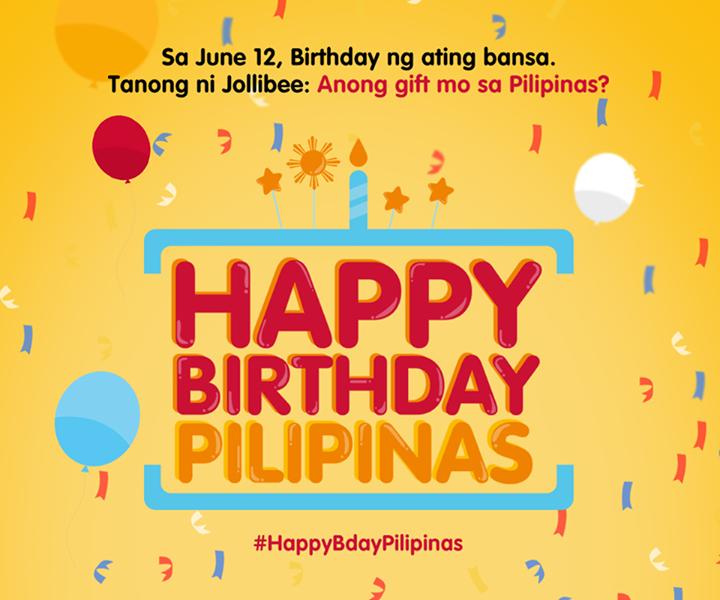 Happy Birthday Pilipinas! May gift kami sa iyo
