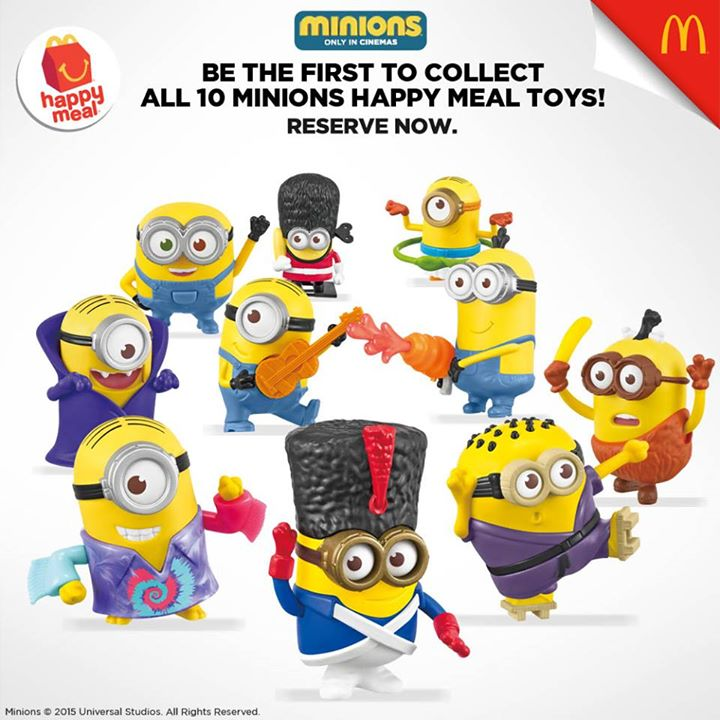 Minions Happy Meals are back at McDonald's