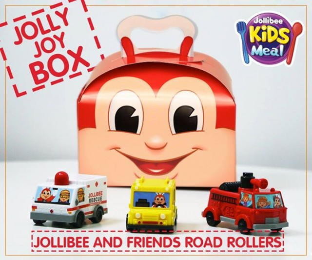 Bring home joy with Jolly Joy Box featuring Jollibee and Friends Road Rollers