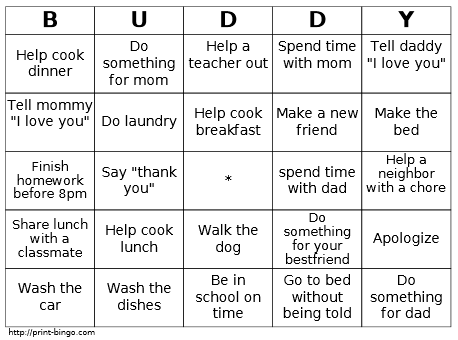 Encouraging Healthy Behavior with A Game of Bingo