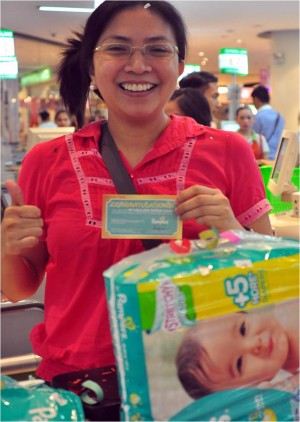 A brighter tomorrow for Pampers' First Millionaire!