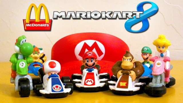 Mario Kart 8 in Mcdonald's Happy Meal Philippines