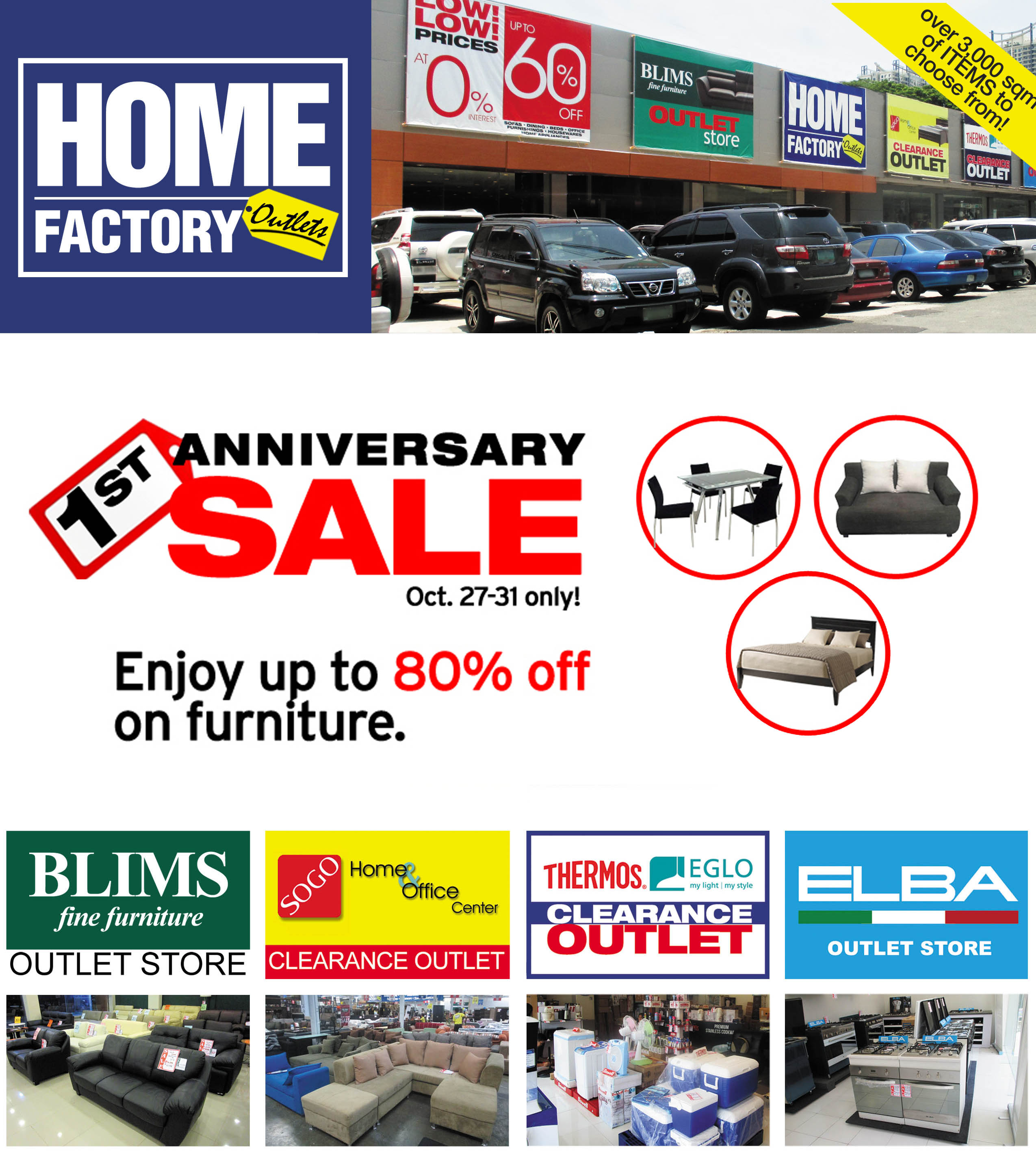 Home Factory Outlets Anniversary Sale On October 27 To 31 2016 The Misis Chronicles Working