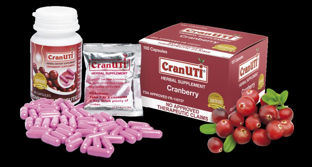 CranUTI supplements