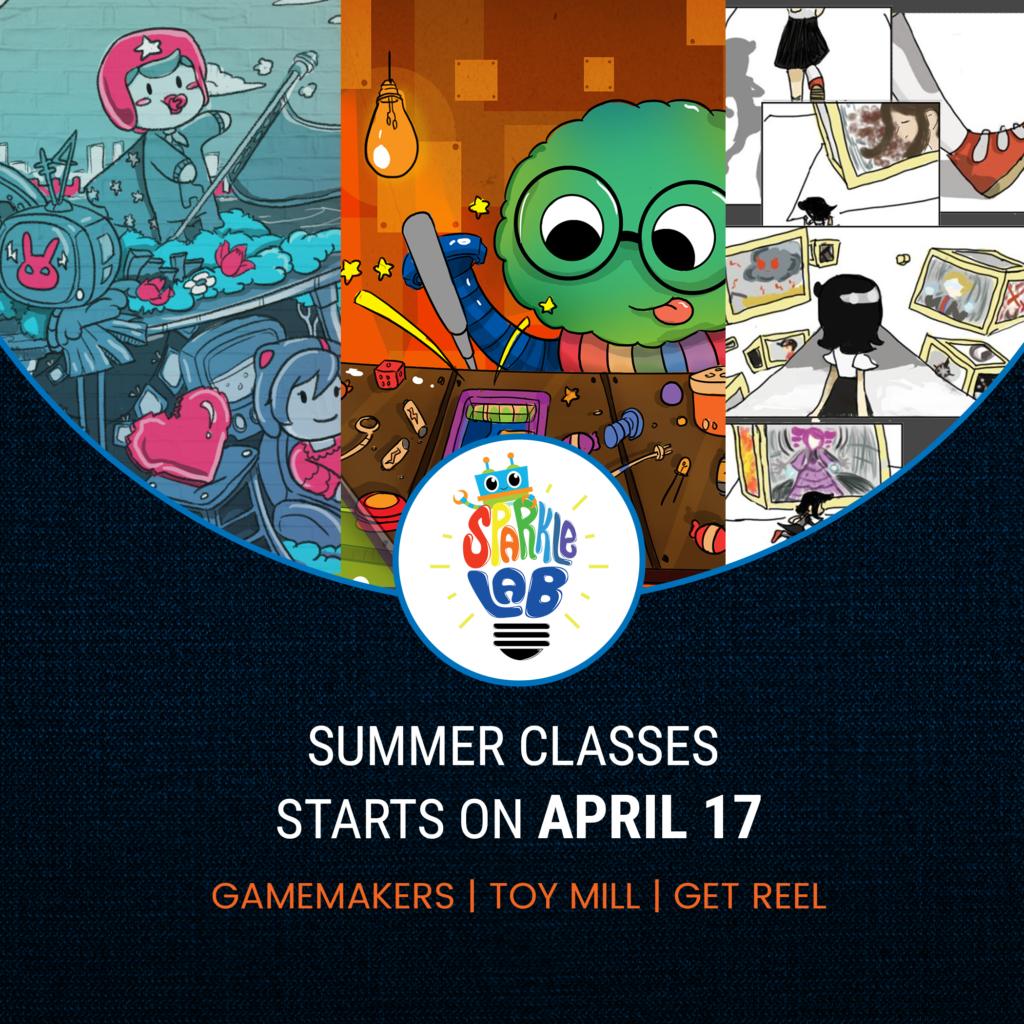 Sparklelab workshops